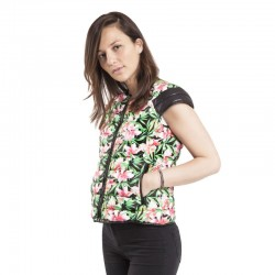 FLOWERPOWER WOMAN DOWNJACKET