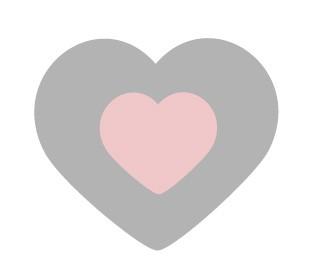 HEART PINK 300